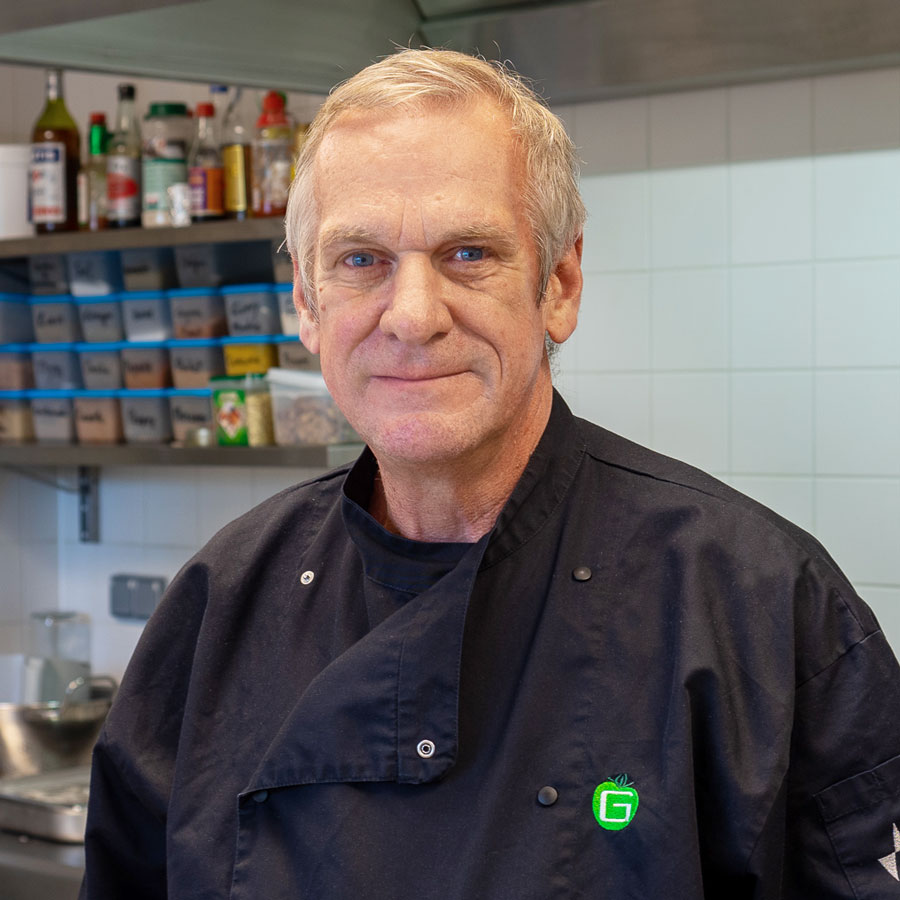 Portrait of Michel - Chef at Park Lane